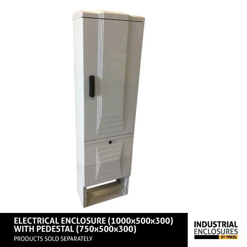 1000x500x300-Enclosure-and-Pedestal