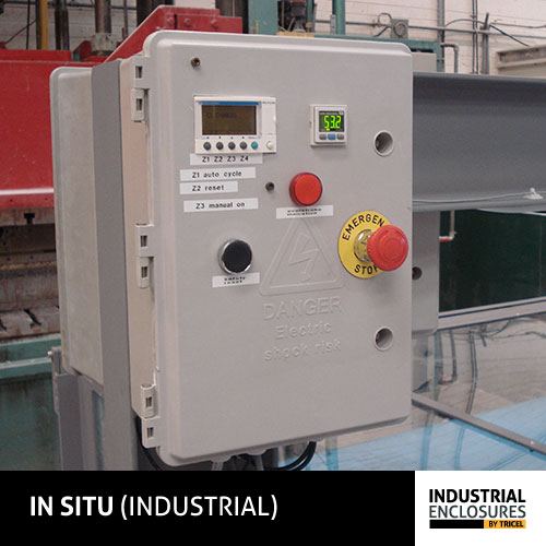 IP65 Electrical Meter Box Pole Mounted by Tricel