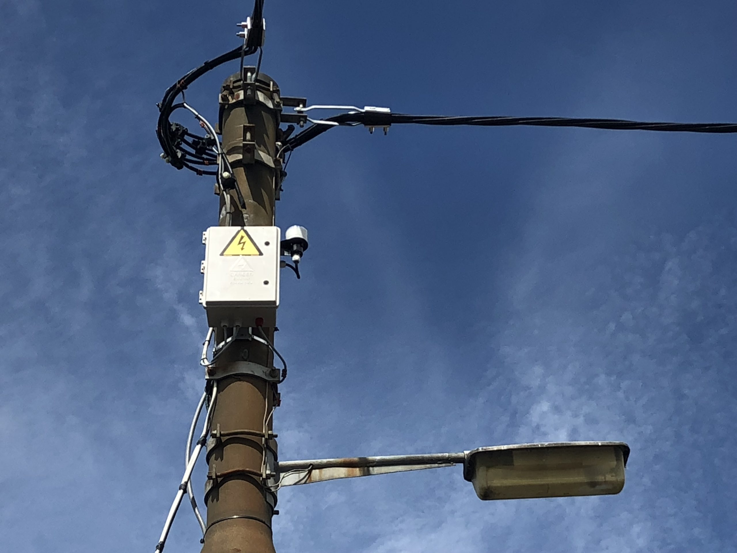 Electrical Meter Box Pole Mounted