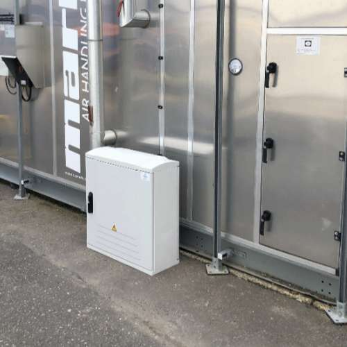Industrial Enclosures 750x750x300 side right