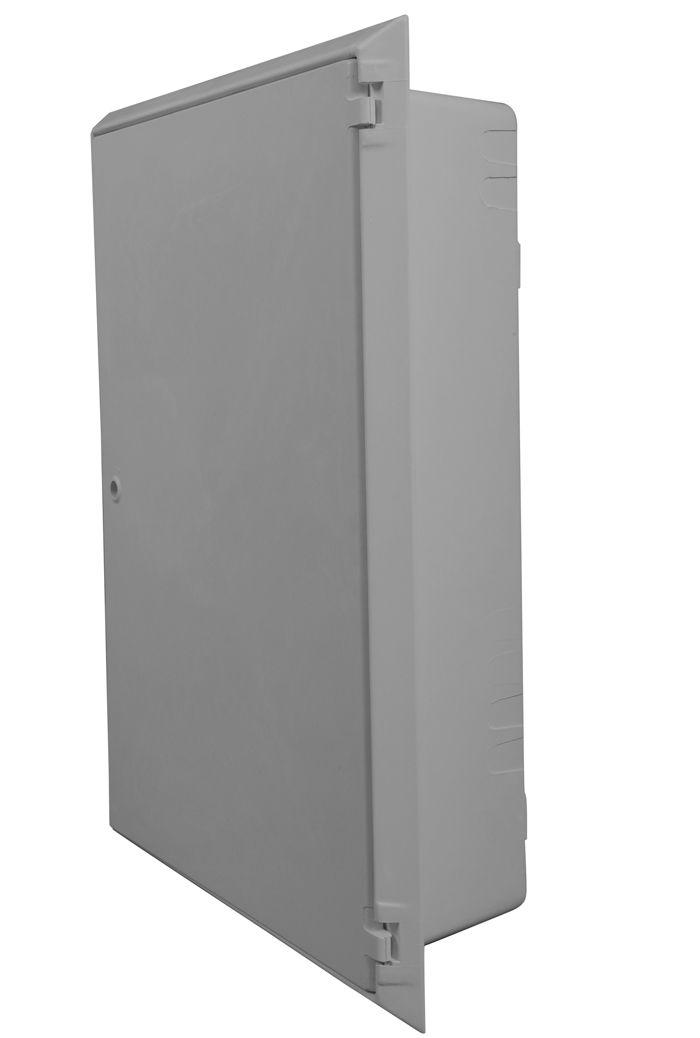 Large 3 Phase Recessed / Large Permali Recessed Electric Meter Box