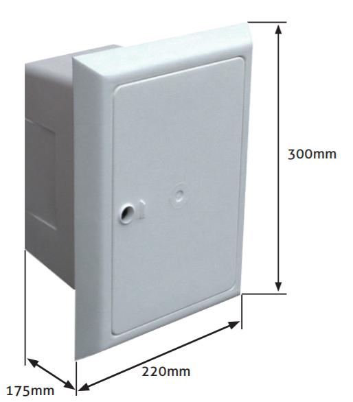 Dimensions Cable Box