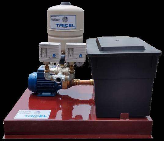 Tricel Pump Pressurisation