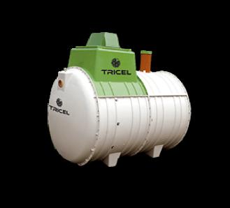 wastewater treatment plant, Tricel Novo