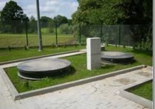 Tricel Maxus with remote settlement and buffer tanks to suit a site with restricted space
